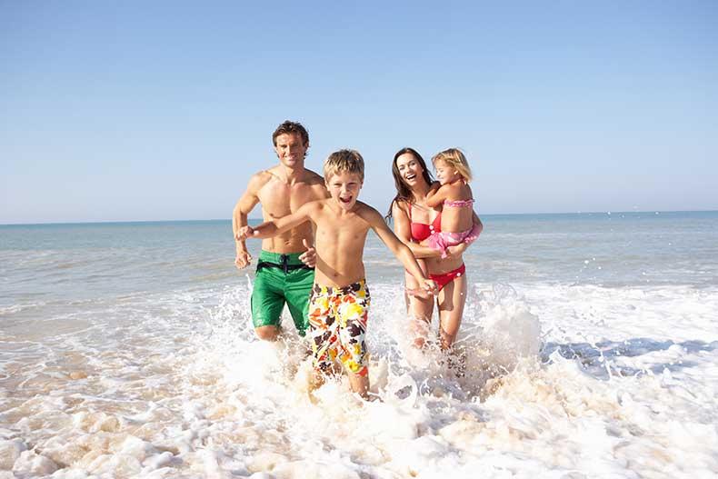 Roquetas de Mar con niños