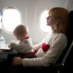 Consejos para los viajes con niños pequeños en avión