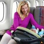 Los viajes con niños pequeños en avión