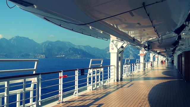 crucero a bordo