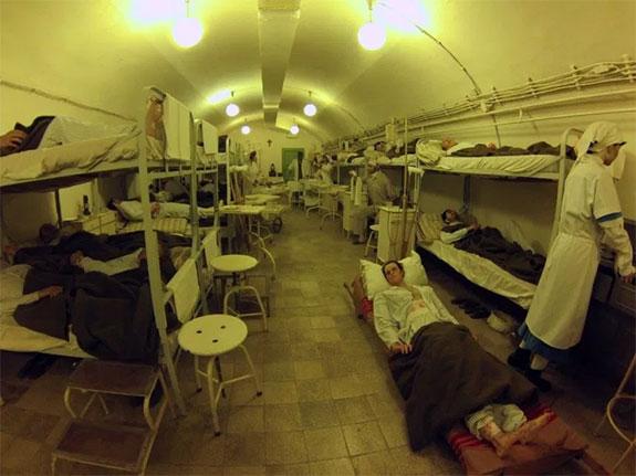 Hospital en la roca de Budapest