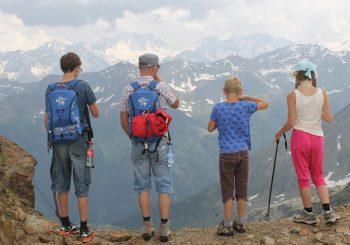 Consejos para una excursión a la montaña con niños
