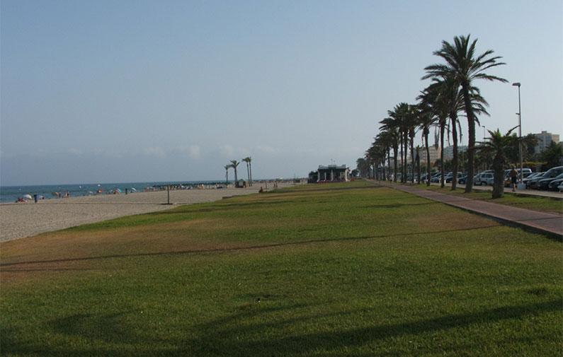 Playas de Almería playa serena almeria