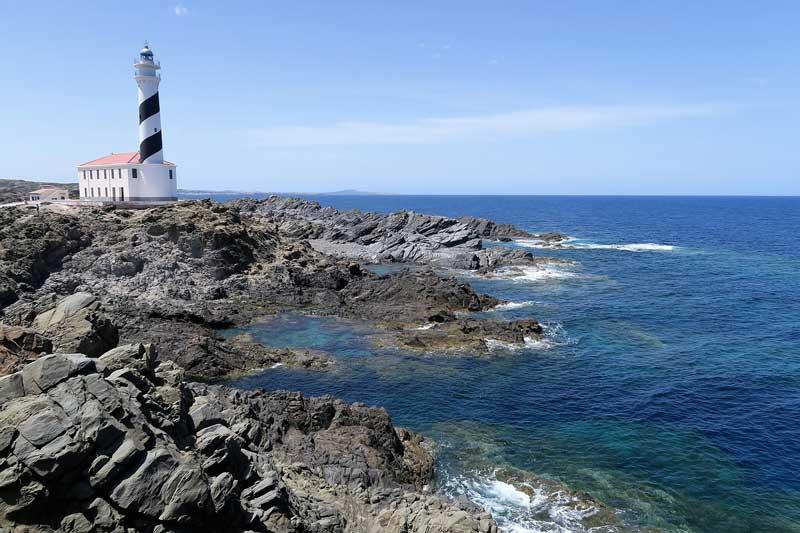 Faros en Menorca