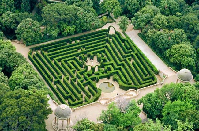 Que hacer en Barcelona con niños Labirint d'Horta